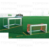 Mini-baliza em alumínio para treino ou torneios 3x3
