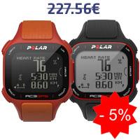 Monitor de frequência cardíaca Polar RC3 GPS HR