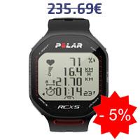 Monitor de frequência cardíaca Polar RCX5
