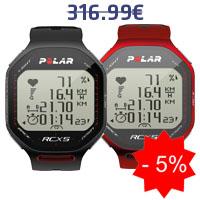 Monitor de frequência cardíaca Polar RCX5 G5 MULTISPORT