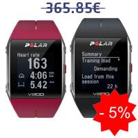 Monitor de frequência cardíaca Polar V800