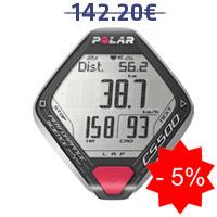 Monitor de frequência cardíaca Polar CS500+cad