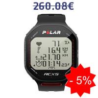 Monitor de frequência cardíaca Polar RCX5 BIKE