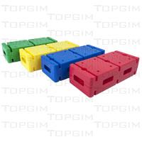 Conjunto de 4 tijolos compactos