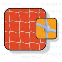 Par de Redes para baliza de Futsal