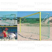 Baliza de futebol praia em alumínio - competição