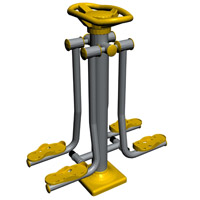 Equipamento para trabalhar pernas -Pêndulo