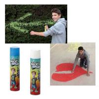 Tinta ecológica em spray para pinturas temporárias