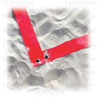Fitas de marcação para andebol de praia