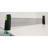 Suportes com rede retráctil para ténis de mesa
