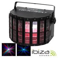 Projector Luz C/ 4 Leds RGBW 3w DMX MIC IBIZA