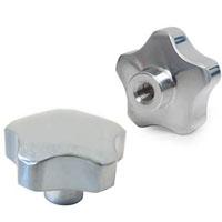 Manípulo em Alumínio  40mm com parafuso M8
