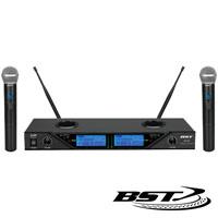 Central Microfone S/Fios 2 Canais UHF 16 Freq. CEE BST
