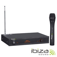 Central Microfone S/Fios 1 Canal VHF 203.5Mhz IBIZA