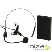 Microfone Headset S/Fios VHF  IBIZA