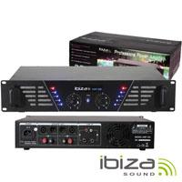 """Amplificador Áudio 19"""" 2x240W IBIZA"""