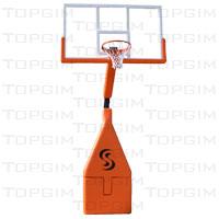Unidade de basquetebol amovível c/ sistema de molas