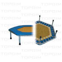 """Protecções p/ o chão p/ mini-trampolim """"Trimm"""""""