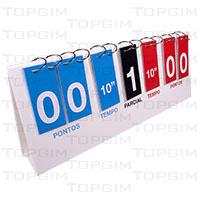Marcador manual de pontos para Boccia