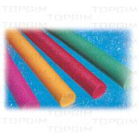 Rolos em espuma para hidroginástica