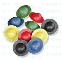 """Ovnis"""" flutuantes bicolores em PVC"""