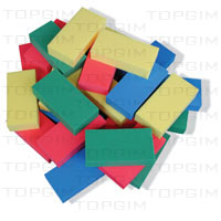 Conjunto de 10 tijolos flutuantes em espuma de plastazote