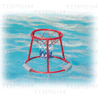 Cesto de basquetebol flutuante