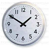 Relógio analógico de parede - 45cm