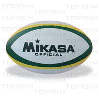 Bola de Rugbi Mikasa Borracha com Nylon