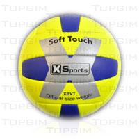 "Bola  Voleibol de Praia  ""X Sports"" couro sintético cosido ""Soft Touch"""