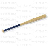Taco de basebol escolar em madeira