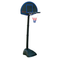 Kit de basquetebol infantil.