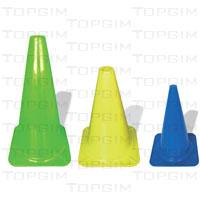Cone de sinalização em PVC denso - modelo luxo