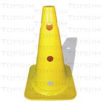 Cone de Sinalização em PVC - Luxo