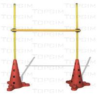 Kit de obstáculos regulável de 10cm a 100cm