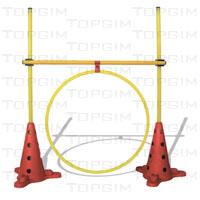 Kit de obstáculos regulável de 10cm a 100cm , com arco plano