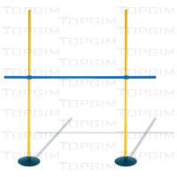Kit de obstáculos regulável de 10cm a 160cm