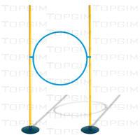 Kit de obstáculos regulável com arco