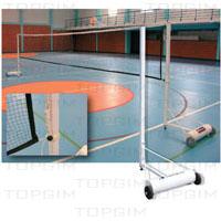 Para de Postes de Badminton amovíveis