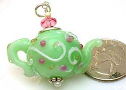 Opal Jade Teapot