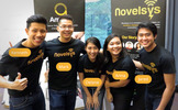 Novelsys Family at IdeasInc 2014 with Names