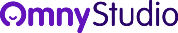 Omny Studio logo purple
