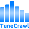 TuneCrawl Logo White Background