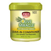 African Pride Olive Miracle Leave-In Conditioner (jar)