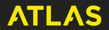 Atlas Logo - Yellow on Black