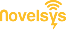 Novelsys Logo (Orange)