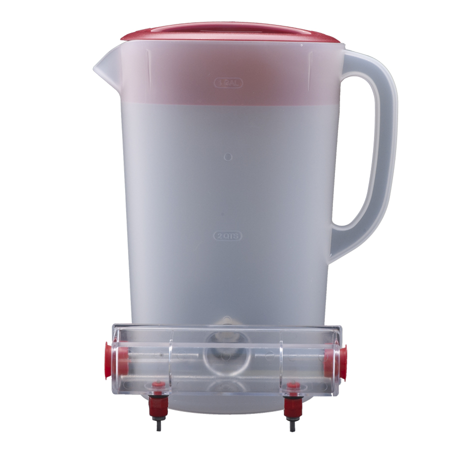 BriteTap Mounted To Pitcher
