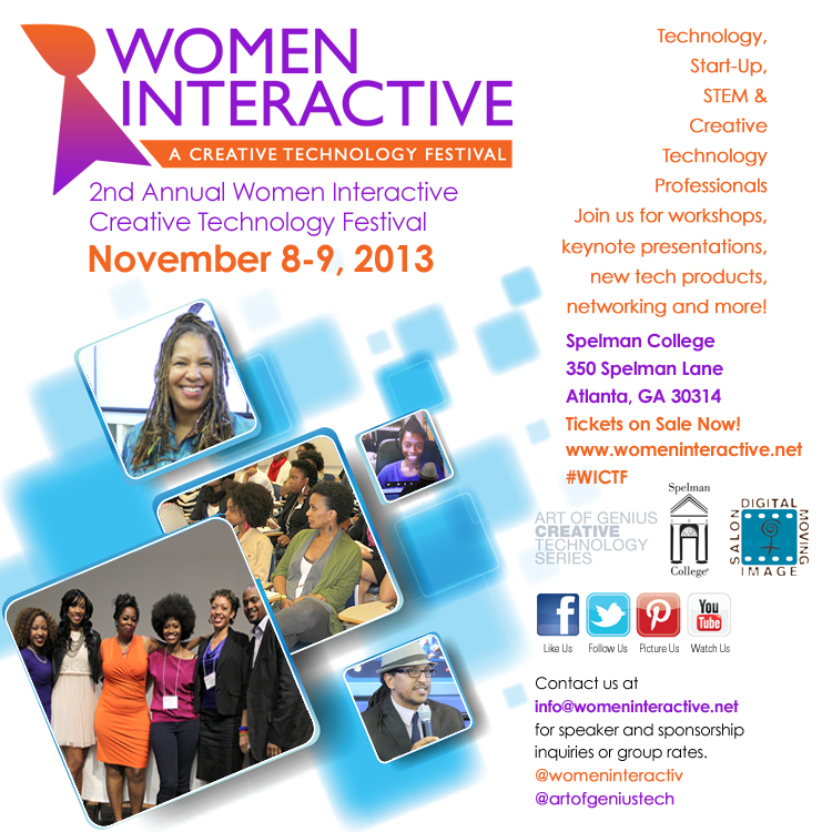 Women Interactive 2013 flyer