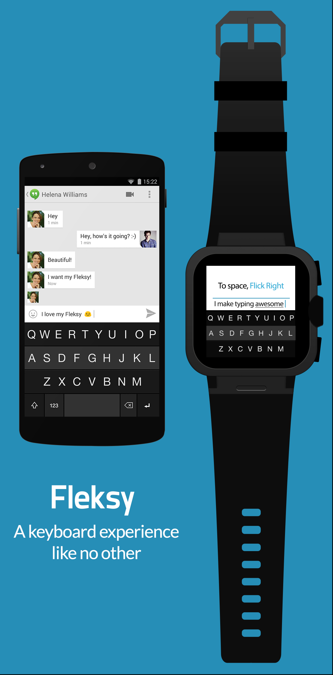 Fleksy - Watch and Phone
