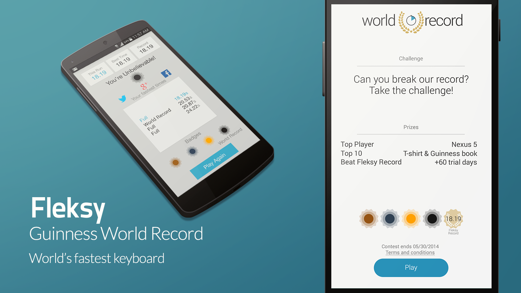 Fleksy - World Record